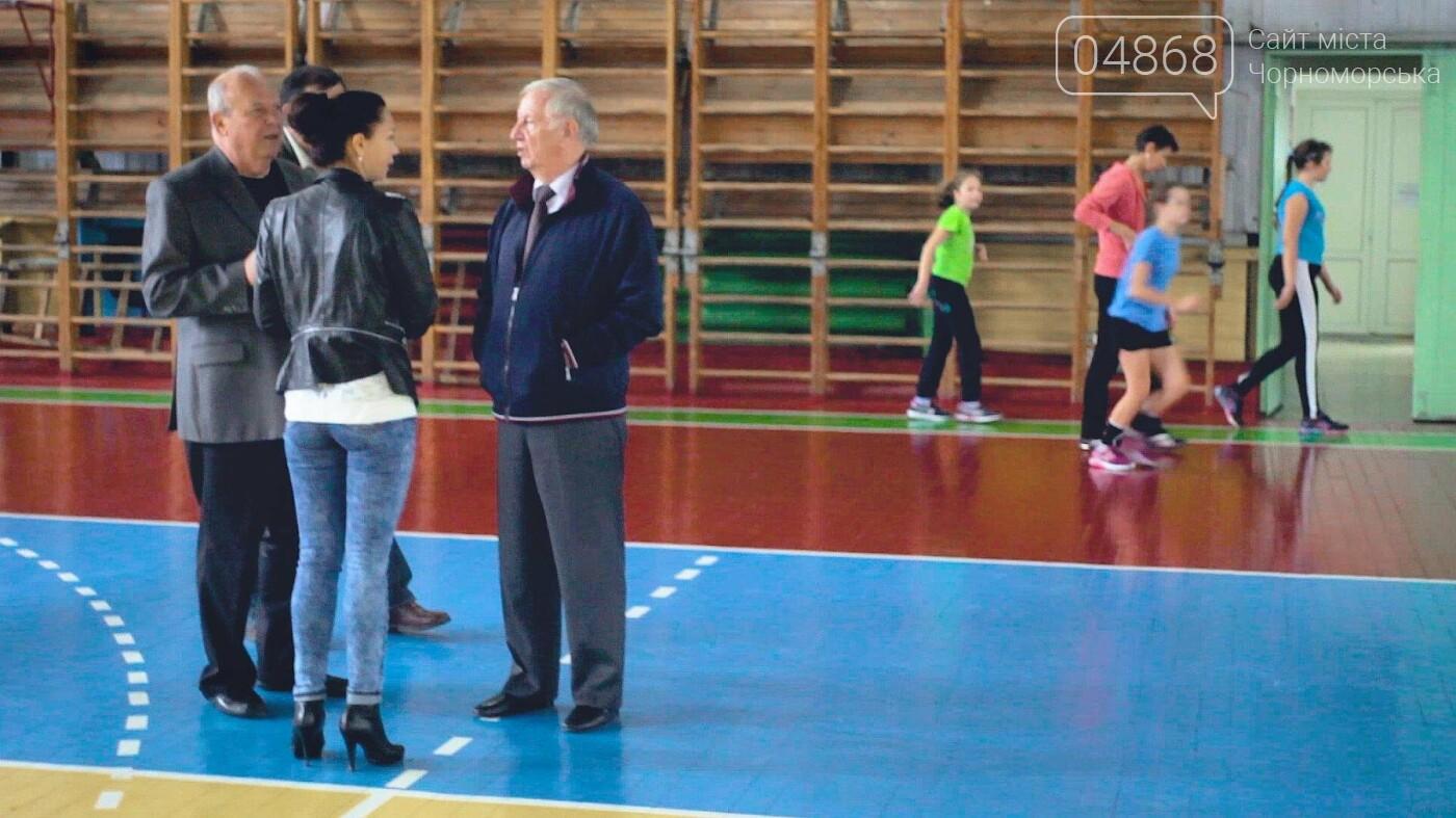 Планы развития спортивной инфраструктуры в Черноморске (видео), фото-2