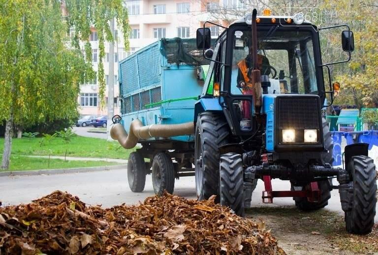 Осенний листопад: коммунальщики Черноморска рассказали о том, как поддерживается чистота города (фото), фото-2