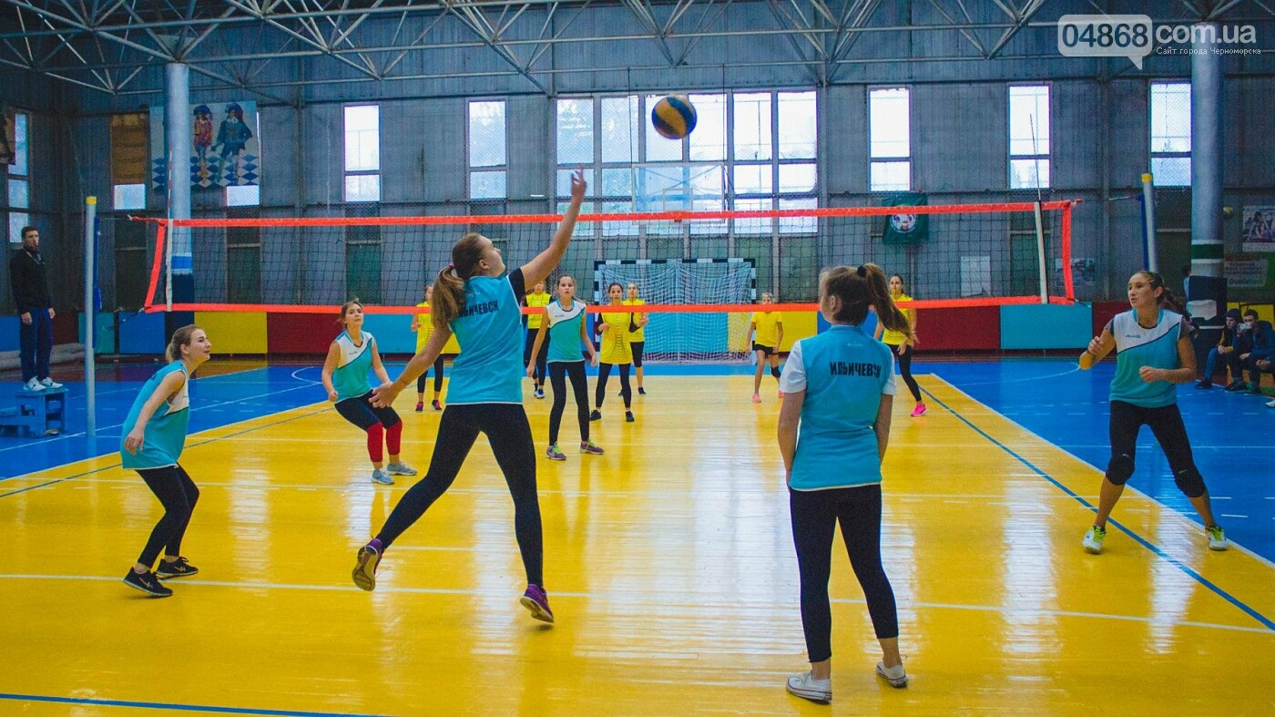 В Черноморске проходит городская спартакиада по волейболу, фото-7