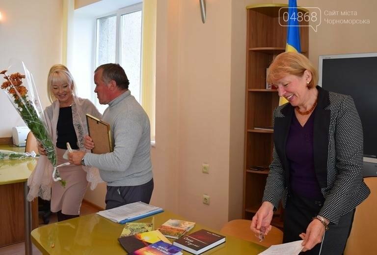 В Черноморске вручили литературную премию им.Василя Сагайдака, фото-11