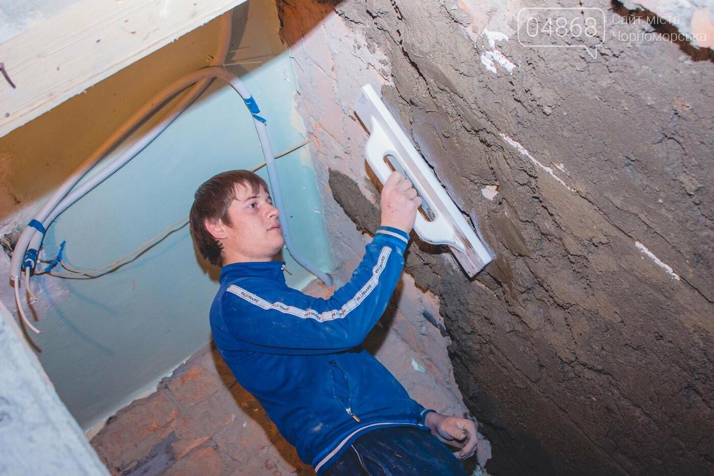 В травматологическом отделении Черноморской больницы уже выполнена половина ремонтных работ, фото-7