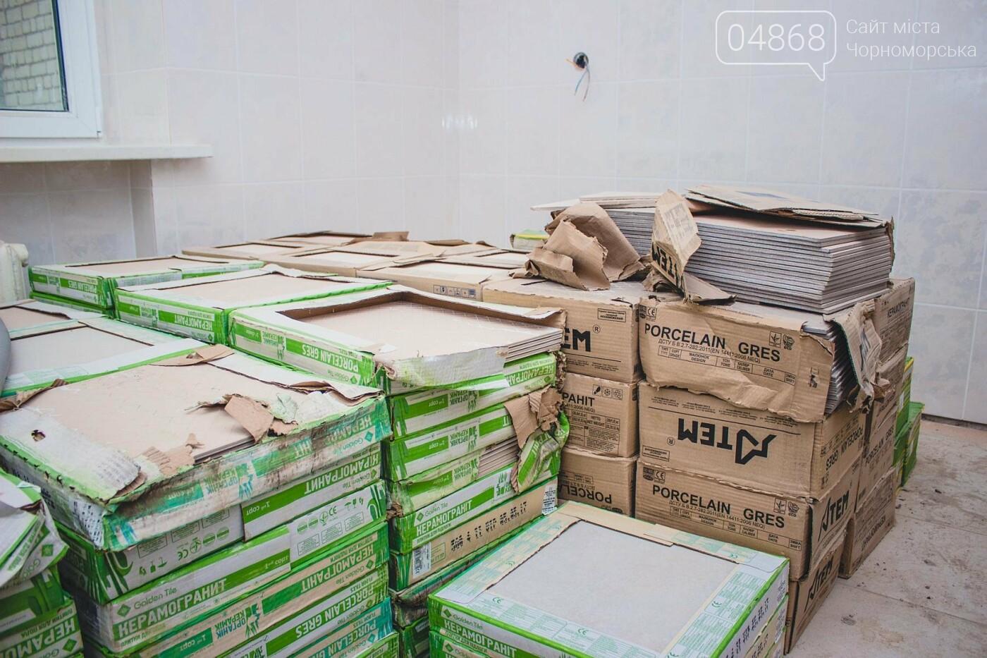 В травматологическом отделении Черноморской больницы уже выполнена половина ремонтных работ, фото-8