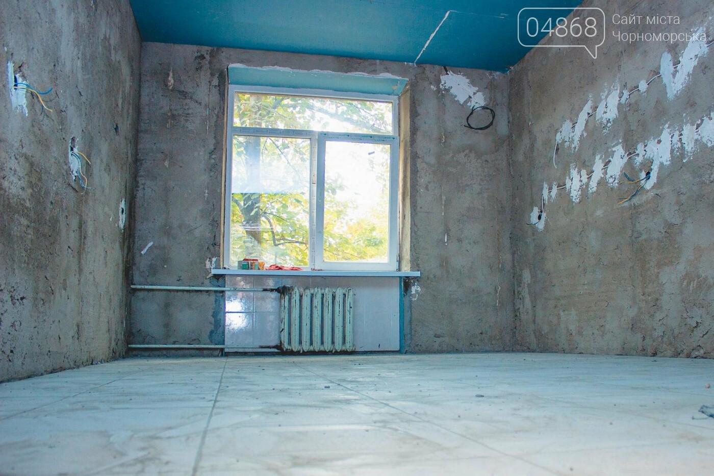 В травматологическом отделении Черноморской больницы уже выполнена половина ремонтных работ, фото-6