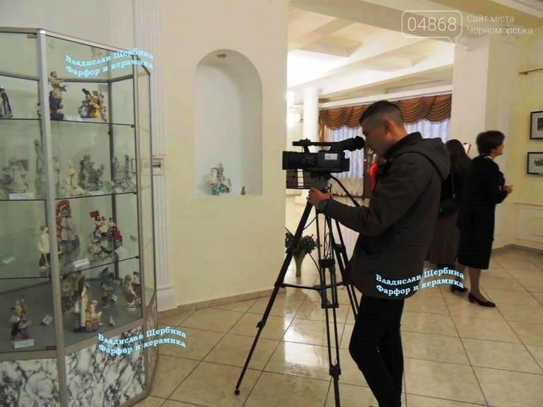 В Черноморске открылась выставка «Фарфор – смысл моей жизни», фото-10