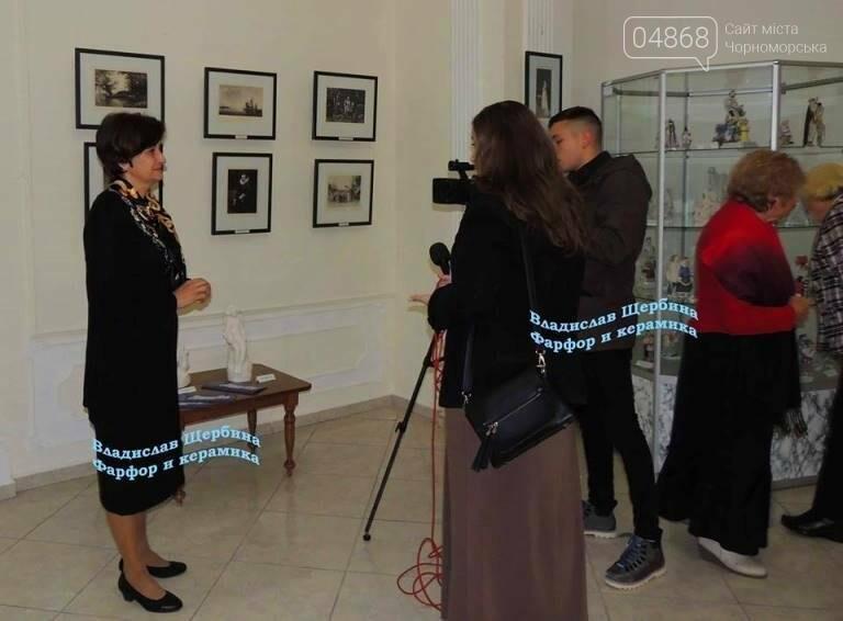 В Черноморске открылась выставка «Фарфор – смысл моей жизни», фото-7