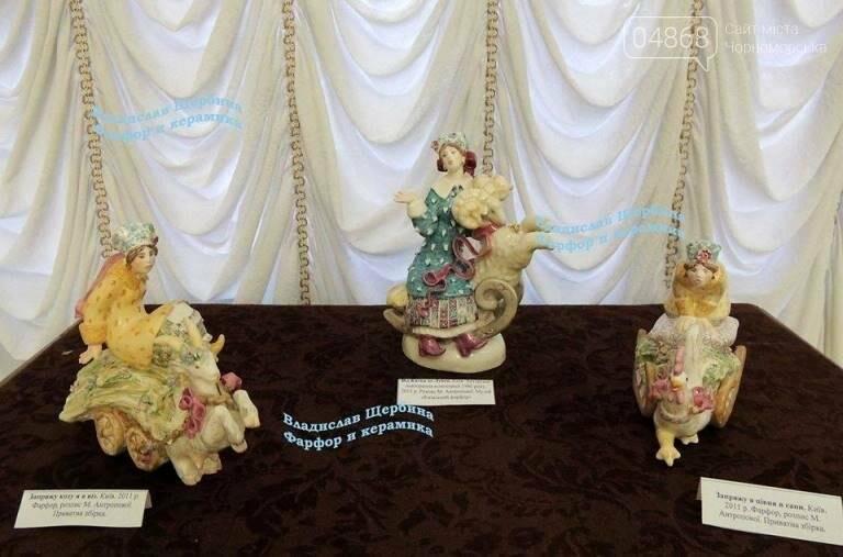 В Черноморске открылась выставка «Фарфор – смысл моей жизни», фото-6