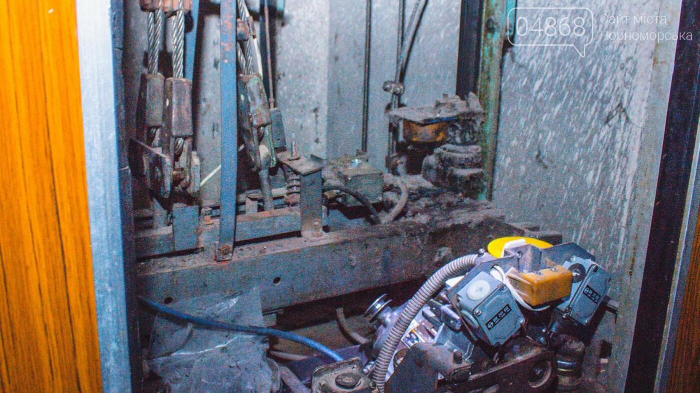 В жилых домах Черноморска ремонтируют лифты, фото-2