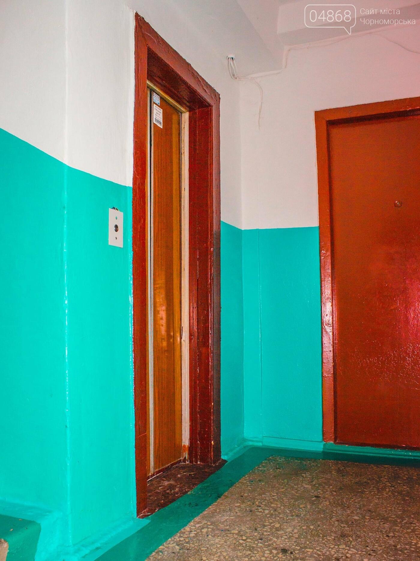 В жилых домах Черноморска ремонтируют лифты, фото-3