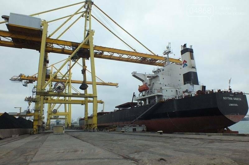 В Черноморском порту завершили выгрузку угля из ЮАР, фото-2