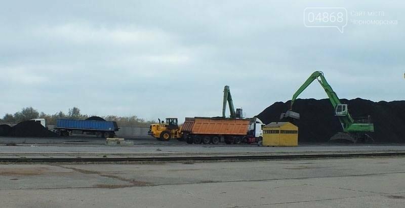 В Черноморском порту завершили выгрузку угля из ЮАР, фото-1