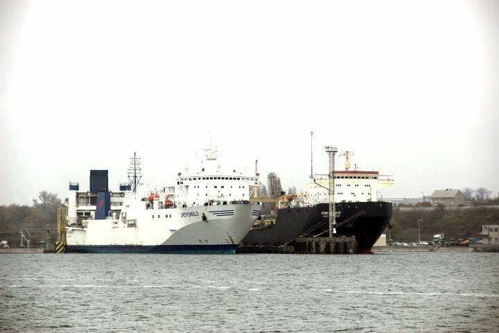Журналисты Киевского бюро «Радио Свобода» посетили Черноморский порт, фото-4