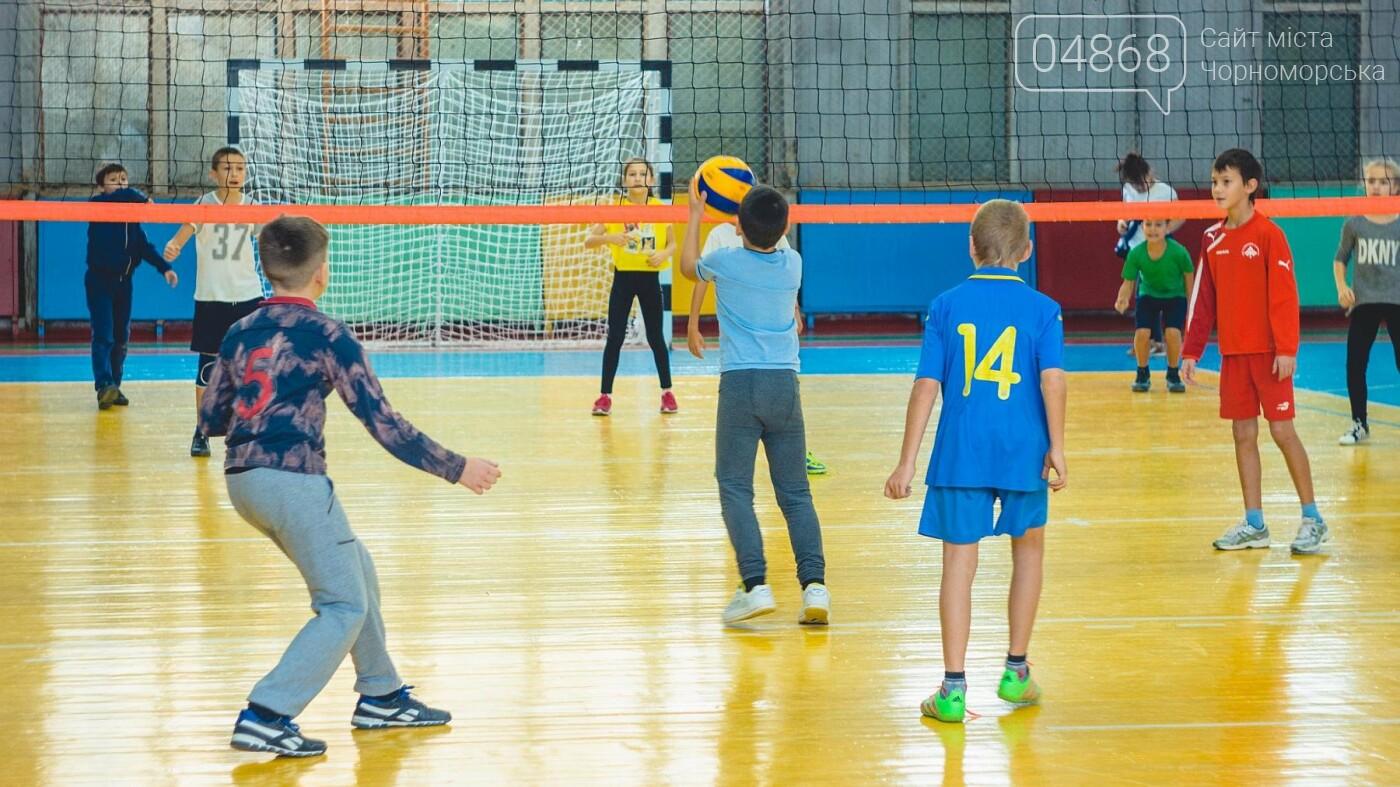 В Черноморске прошли школьные соревнования по мини-волейболу, фото-5