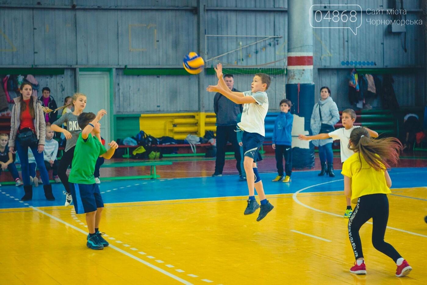 В Черноморске прошли школьные соревнования по мини-волейболу, фото-2