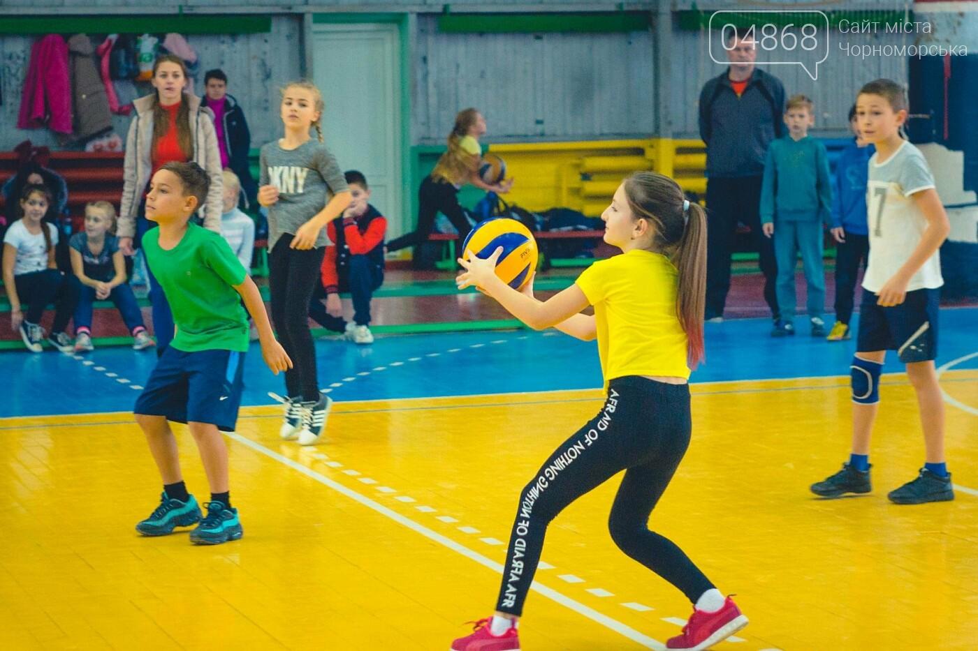 В Черноморске прошли школьные соревнования по мини-волейболу, фото-8