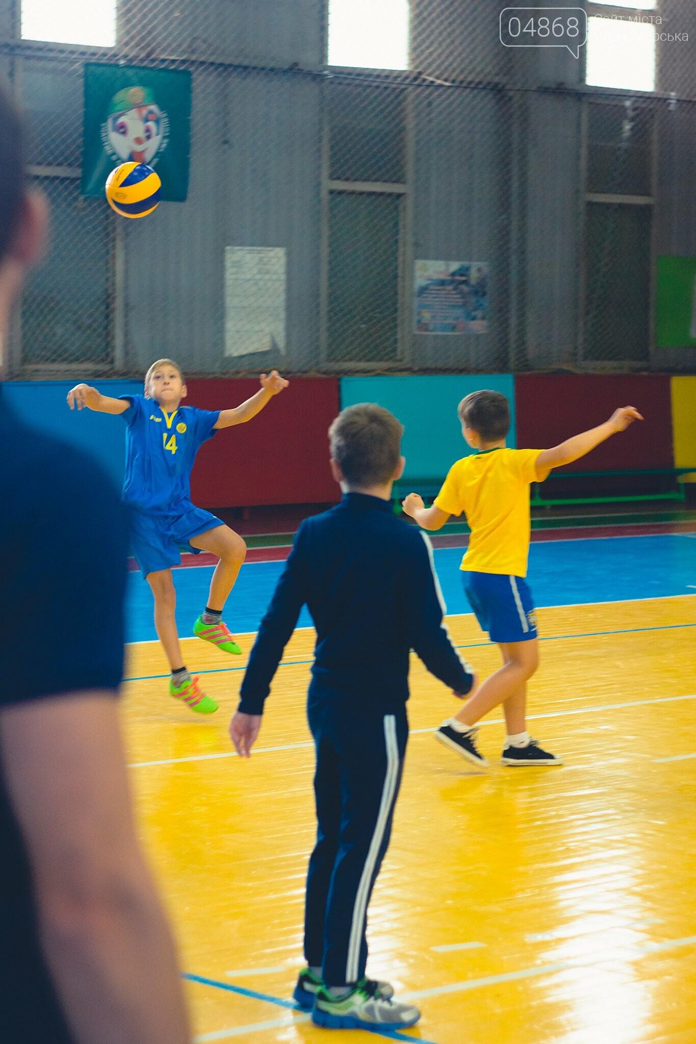 В Черноморске прошли школьные соревнования по мини-волейболу, фото-6