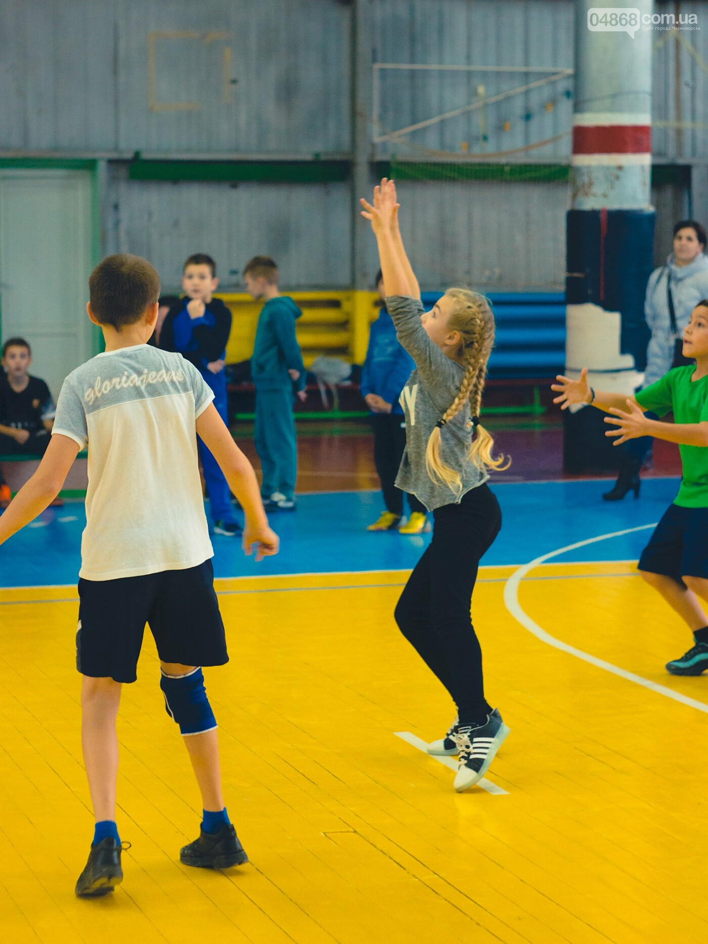 В Черноморске прошли школьные соревнования по мини-волейболу, фото-7