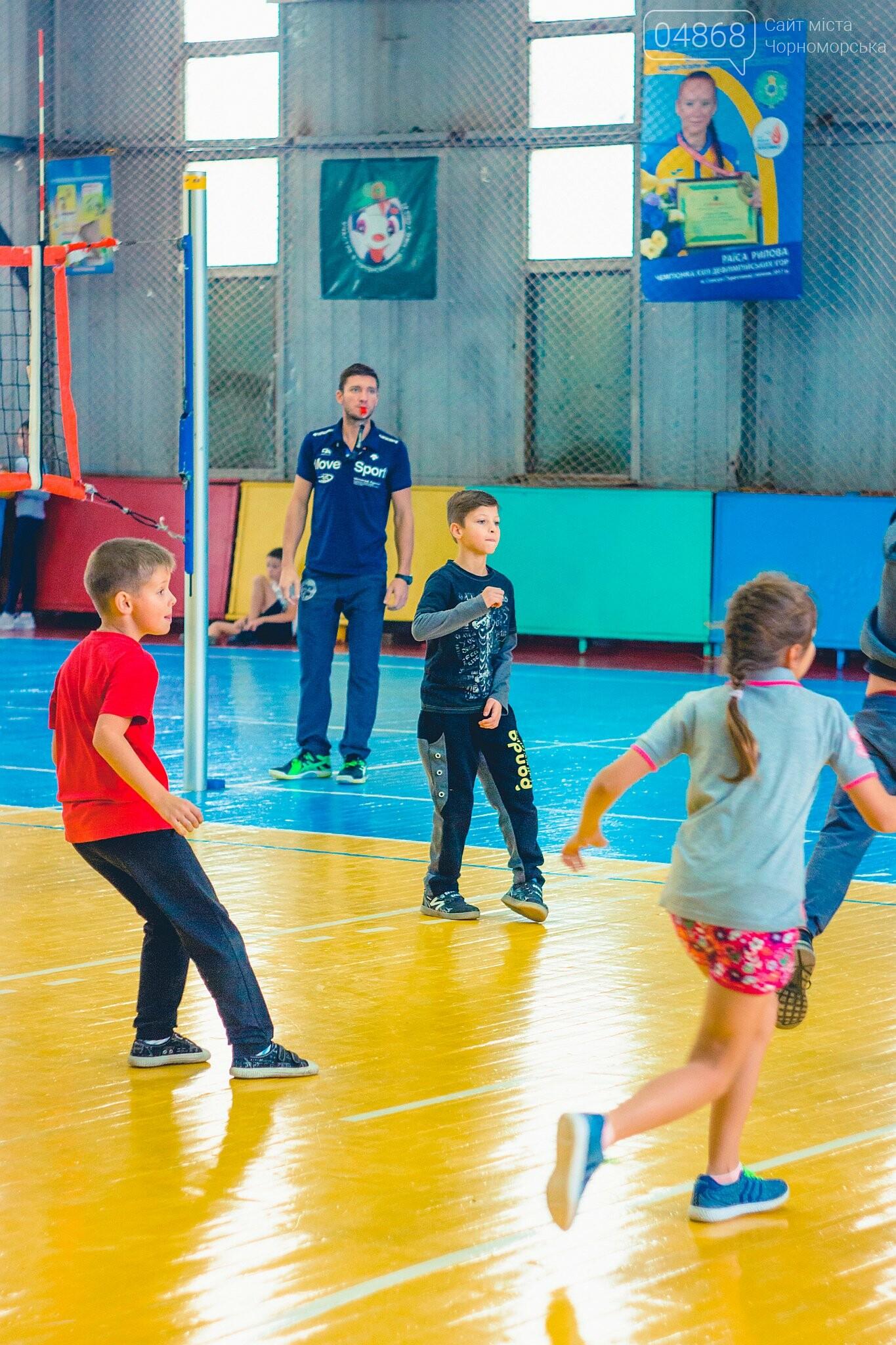 В Черноморске прошли школьные соревнования по мини-волейболу, фото-9