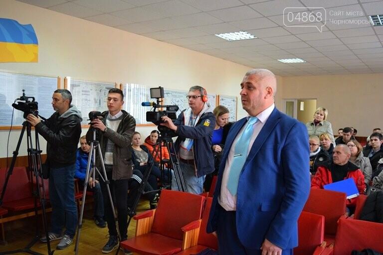 «Безнаказанность приводит к вседозволенности»: в Черноморске прошла пресс-конференция начальника полиции Сергея Ляшенко, фото-7