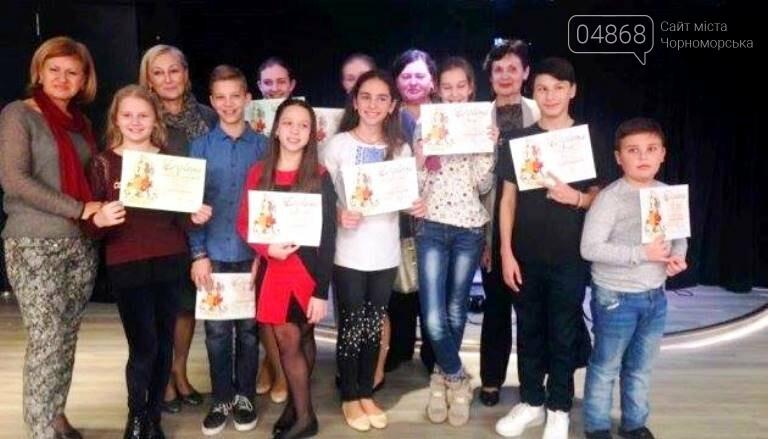 Трое маленьких черноморцев стали победителями музыкального фестиваля в Риге, фото-1