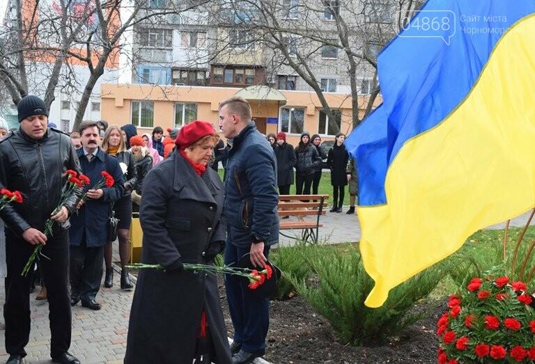 В Черноморске почтили память героев «Небесной сотни» , фото-4