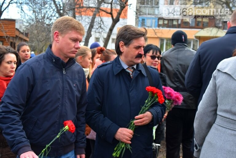 В Черноморске почтили память героев «Небесной сотни» , фото-8