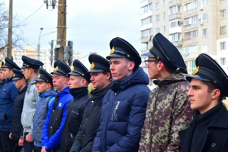 В Черноморске почтили память героев «Небесной сотни» , фото-11