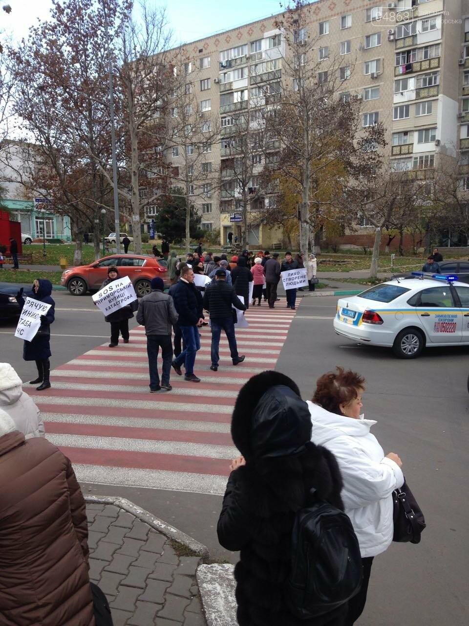 Руководители профильных служб Черноморска получили указания по экстренному решению проблем Приморской улицы, фото-6
