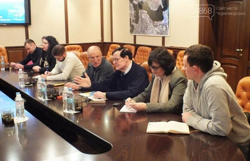 Морской порт Черноморск посетили представители  группы «Egis International», фото-2