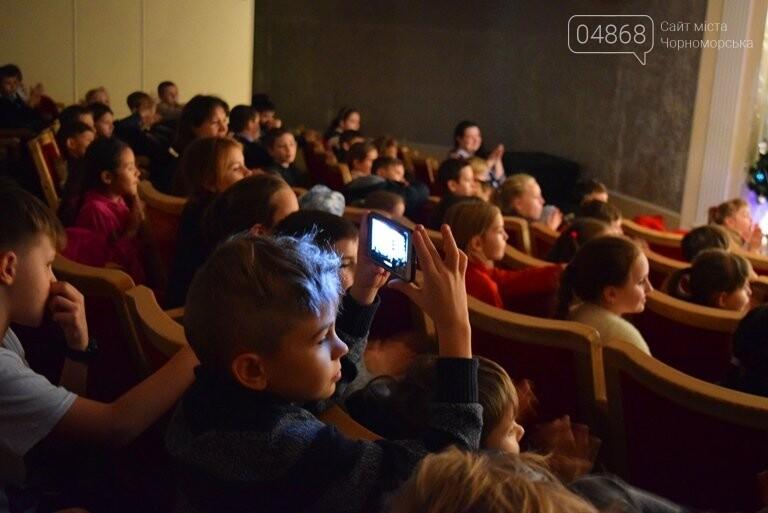 Одесская филармония подарила школьникам Черноморска новогоднее настроение, фото-8