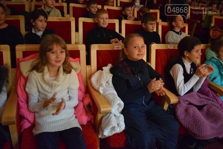 Одесская филармония подарила школьникам Черноморска новогоднее настроение, фото-6