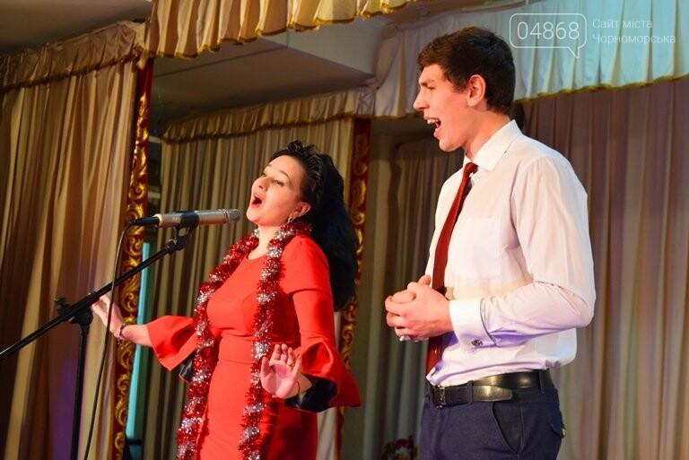 Одесская филармония подарила школьникам Черноморска новогоднее настроение, фото-7
