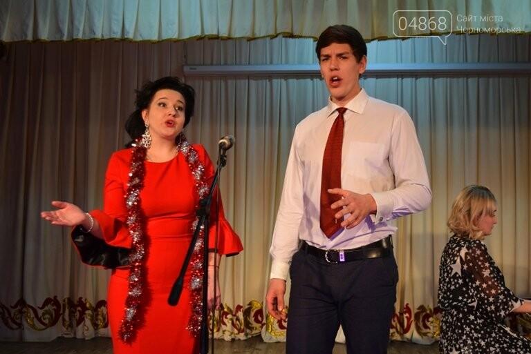 Одесская филармония подарила школьникам Черноморска новогоднее настроение, фото-1