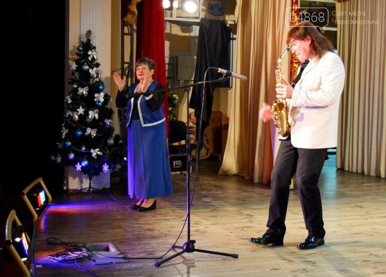 Одесская филармония подарила школьникам Черноморска новогоднее настроение, фото-10