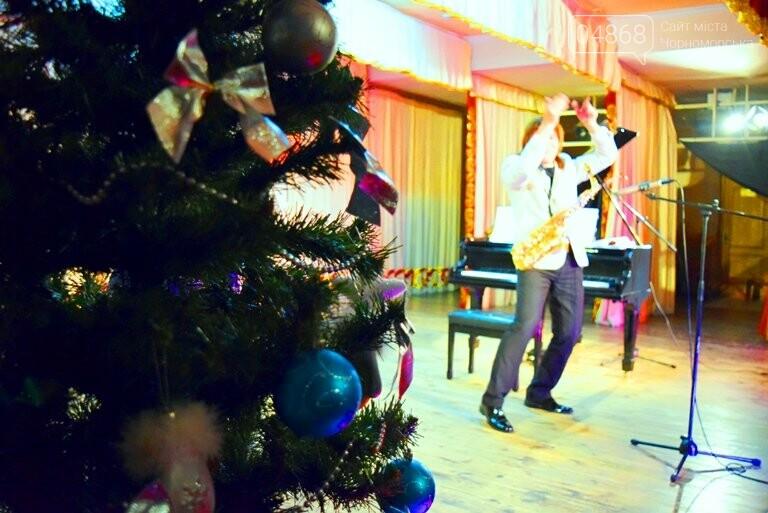 Одесская филармония подарила школьникам Черноморска новогоднее настроение, фото-11
