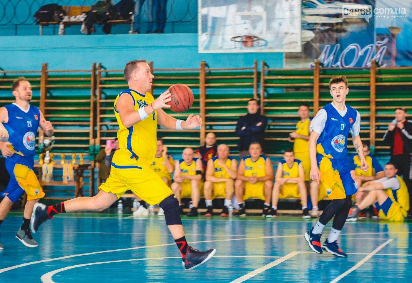 Чемпионат по баскетболу завершился победой команды Черноморска, фото-14