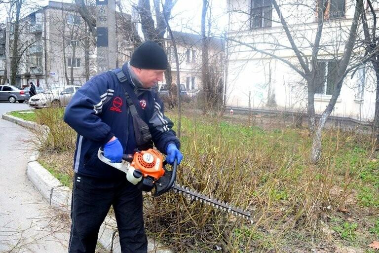 ГУЖКХ Черноморска приводит в порядок дворы города, фото-1