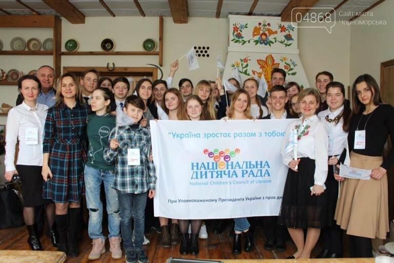 В «Национальный детский совет Украины» вошла юная жительница Черноморска Екатерина Солтык, фото-3