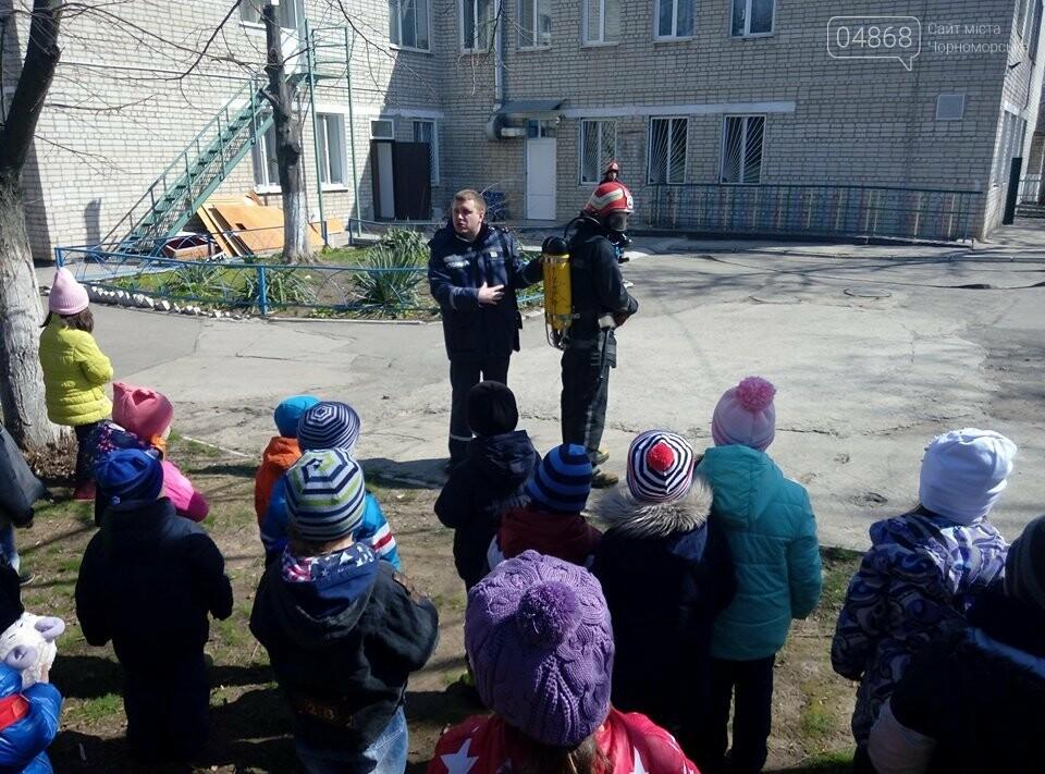 Черноморские спасатели провели учения на территории учебно-воспитательного комплекса города, фото-2