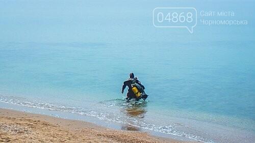Пляж Черноморска первым в области прошёл обследование морского дна , фото-2