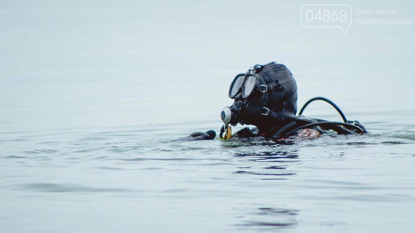Пляж Черноморска первым в области прошёл обследование морского дна , фото-12