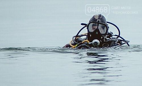 Пляж Черноморска первым в области прошёл обследование морского дна , фото-1