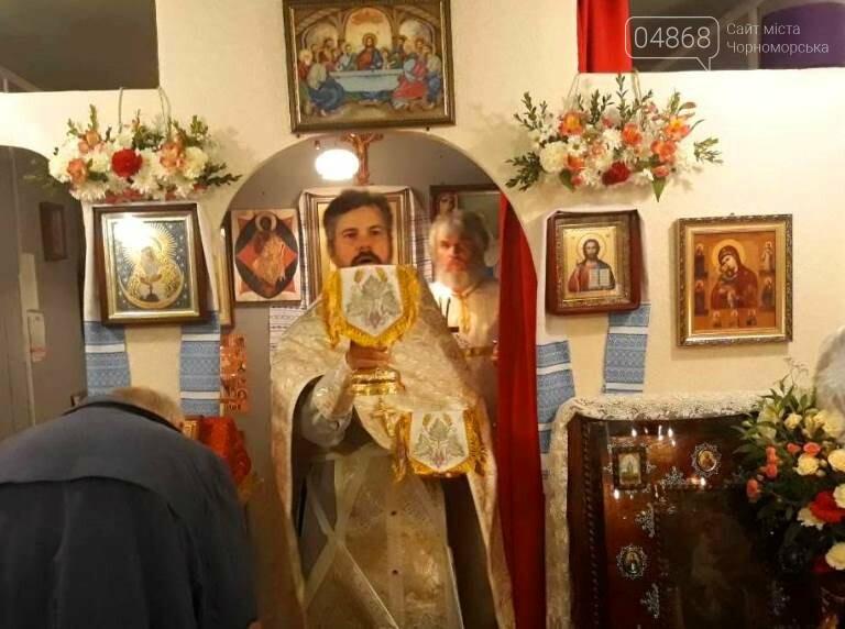 Пасхальные праздники в Черноморске: Благодатный огонь из Иерусалима и дежурство полиции, фото-5