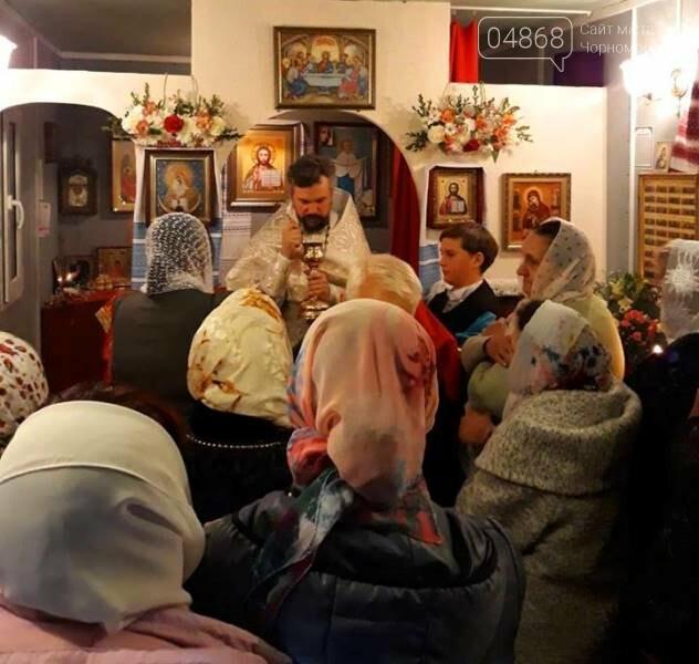 Пасхальные праздники в Черноморске: Благодатный огонь из Иерусалима и дежурство полиции, фото-16