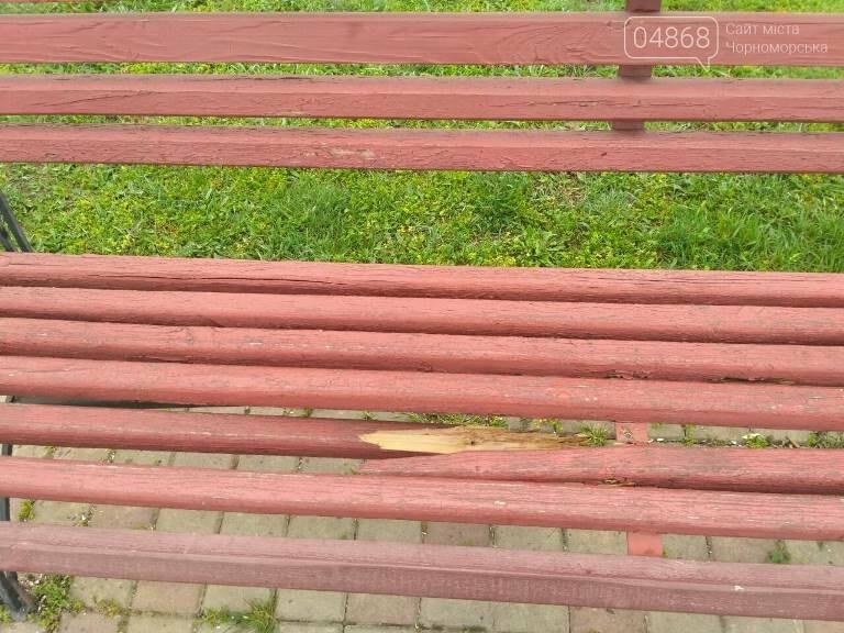 «Ломать – не строить»: вандализм в Черноморске, фото-19