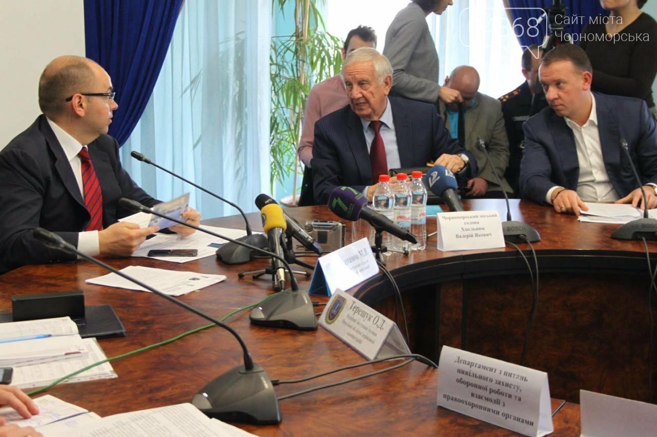 Берегоукрепительные работы в Черноморске будут вестись ускоренными темпами (фото), фото-2