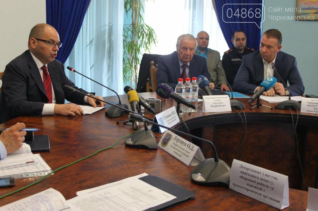 Берегоукрепительные работы в Черноморске будут вестись ускоренными темпами (фото), фото-8