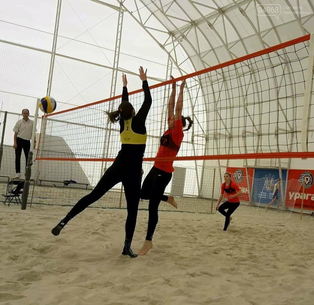Пара из Черноморска стала чемпионами Украины по пляжному волейболу, фото-1