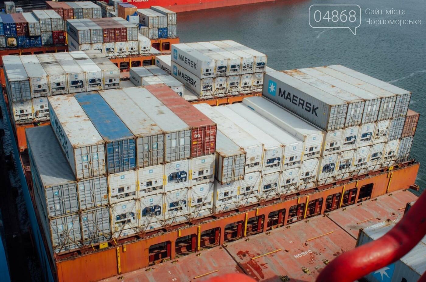 Контейнерный терминал ТИС принял первое судно нового сервиса Maersk, фото-4