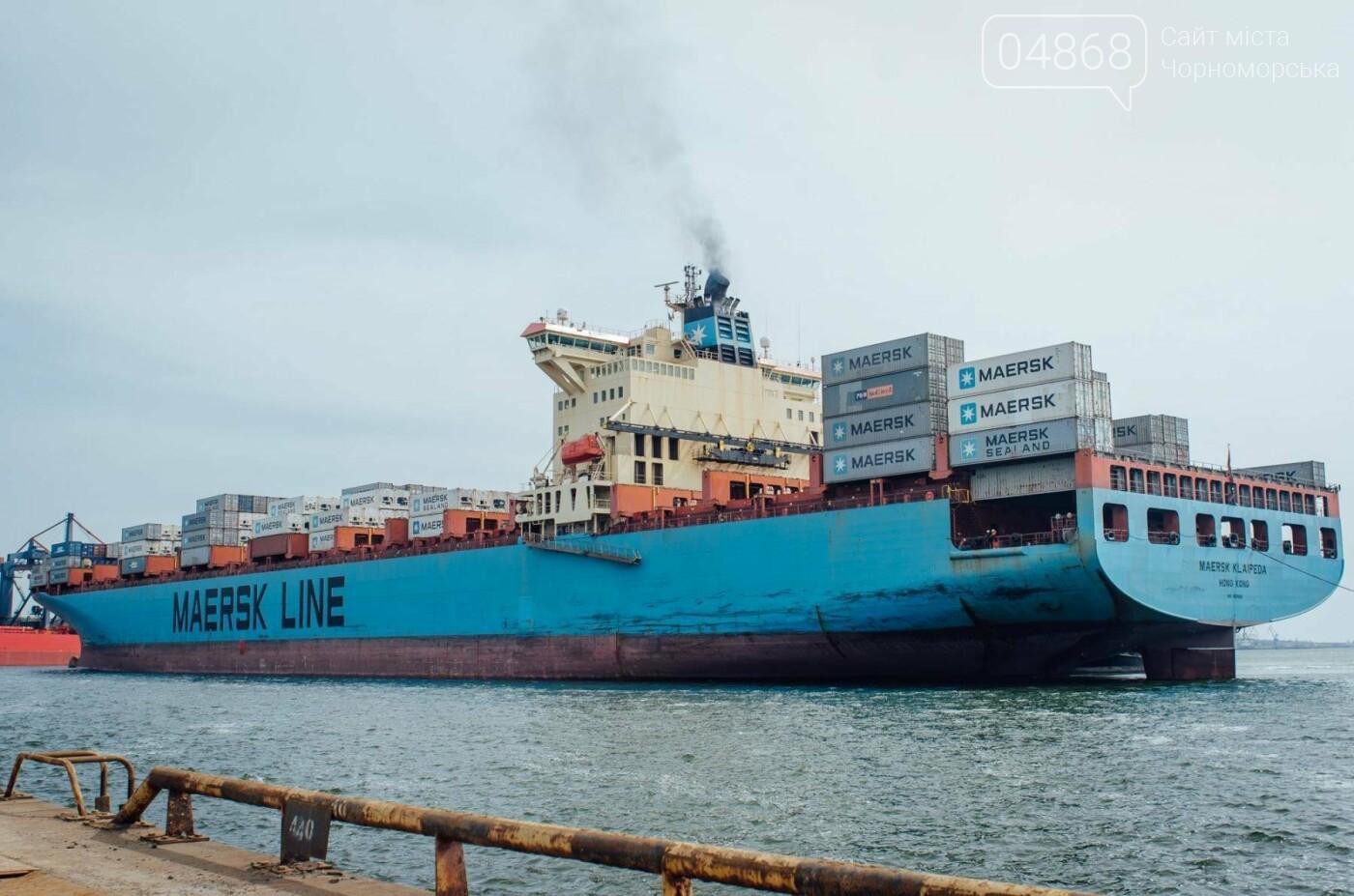 Контейнерный терминал ТИС принял первое судно нового сервиса Maersk, фото-2