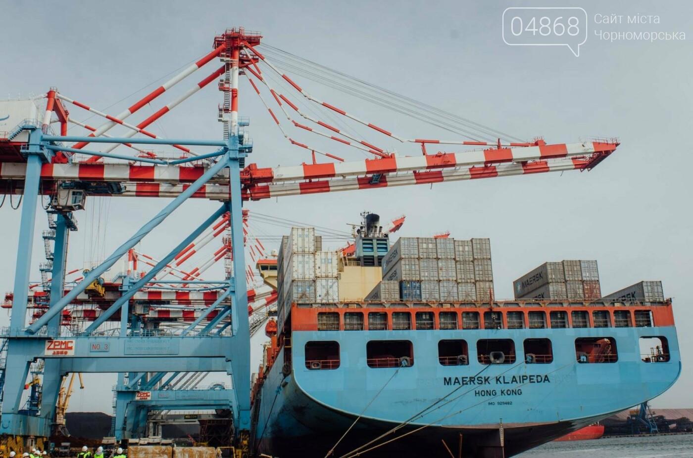 Контейнерный терминал ТИС принял первое судно нового сервиса Maersk, фото-3